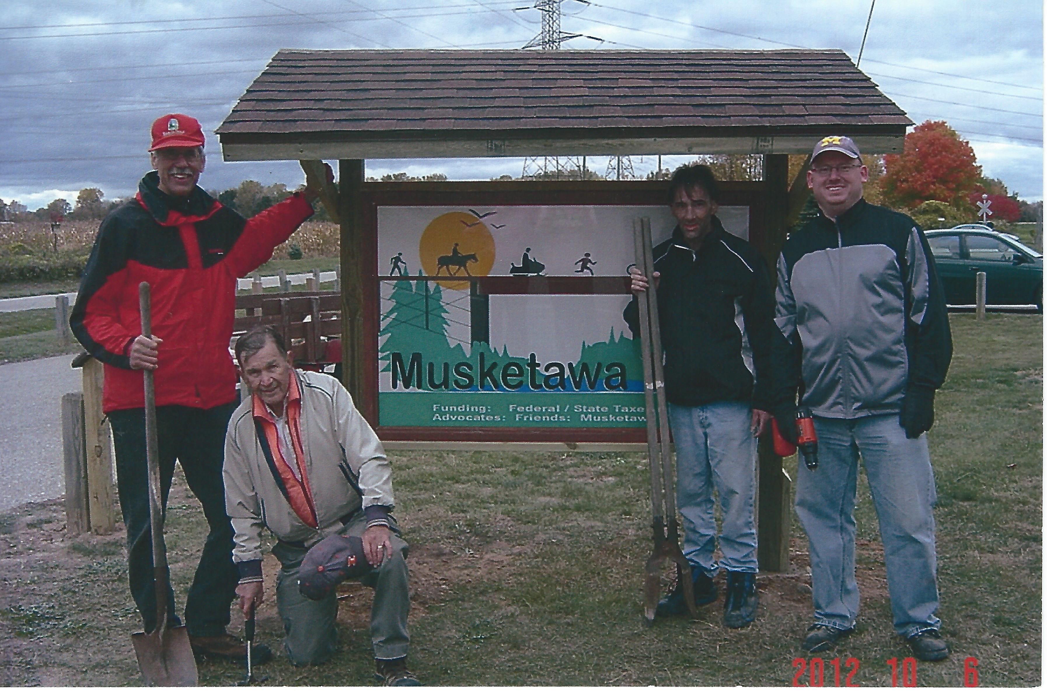 1. Marne Trail Head Sign