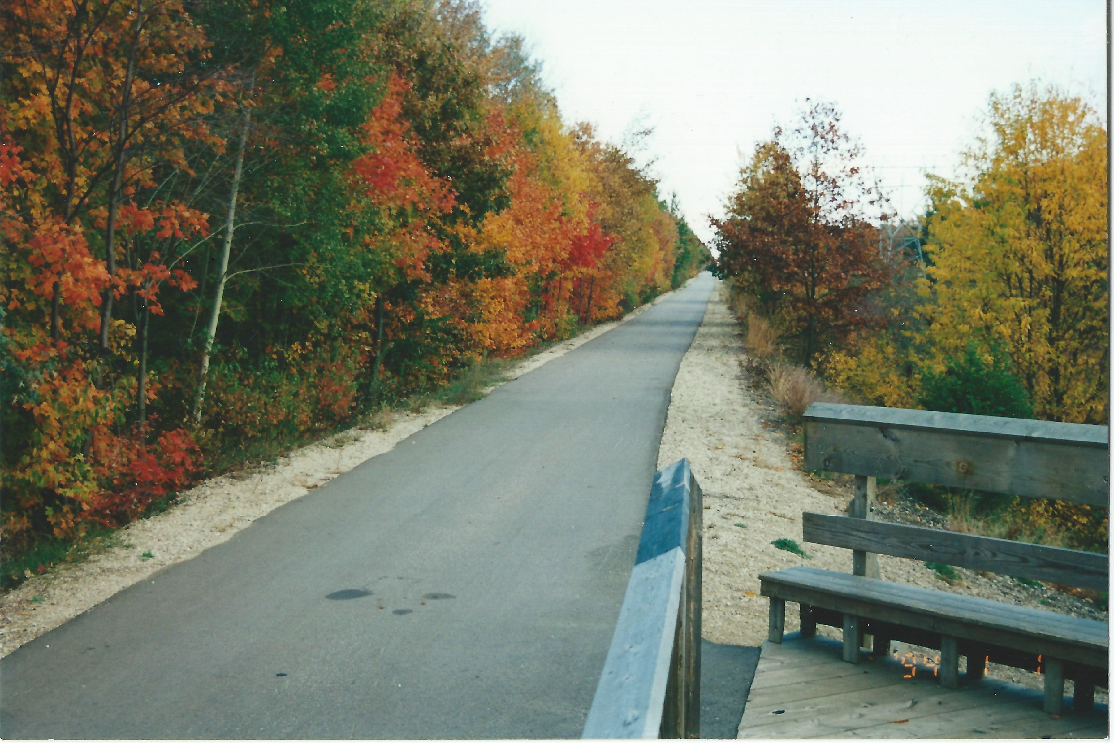 3. Fall Scene Looking Eastward from Black Creek Observation Deck