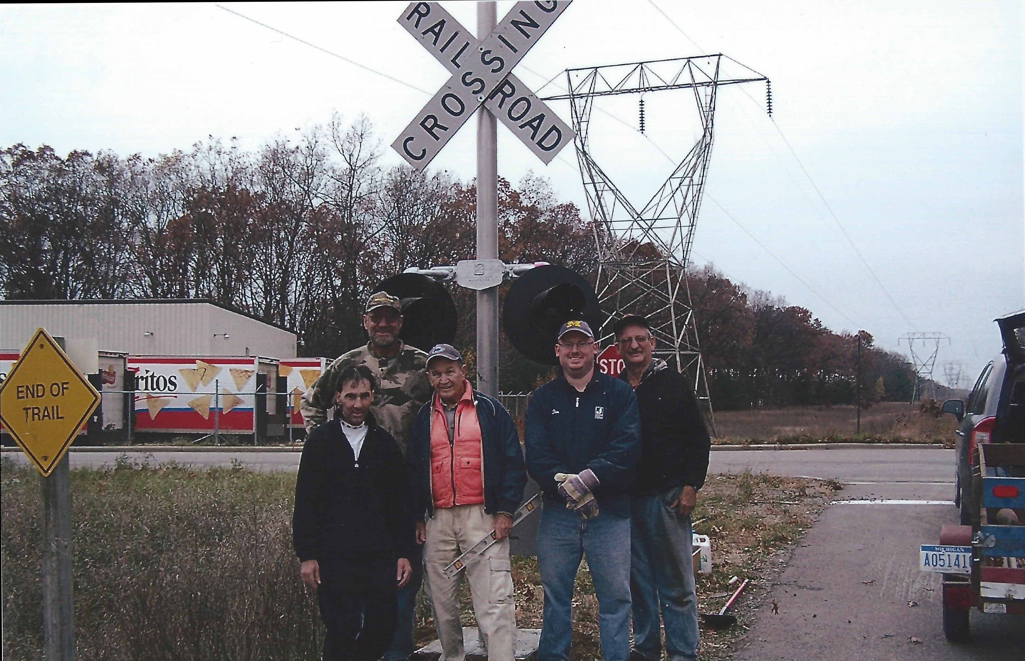 6. Volunteer Project at Black Creek Drive - End of Trail