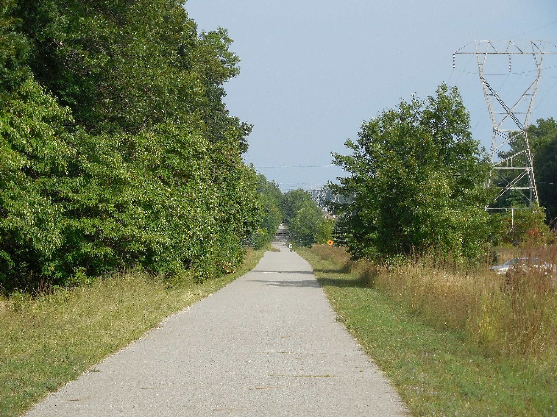 5. Muskegon Trail Head Looking East Along the Trail