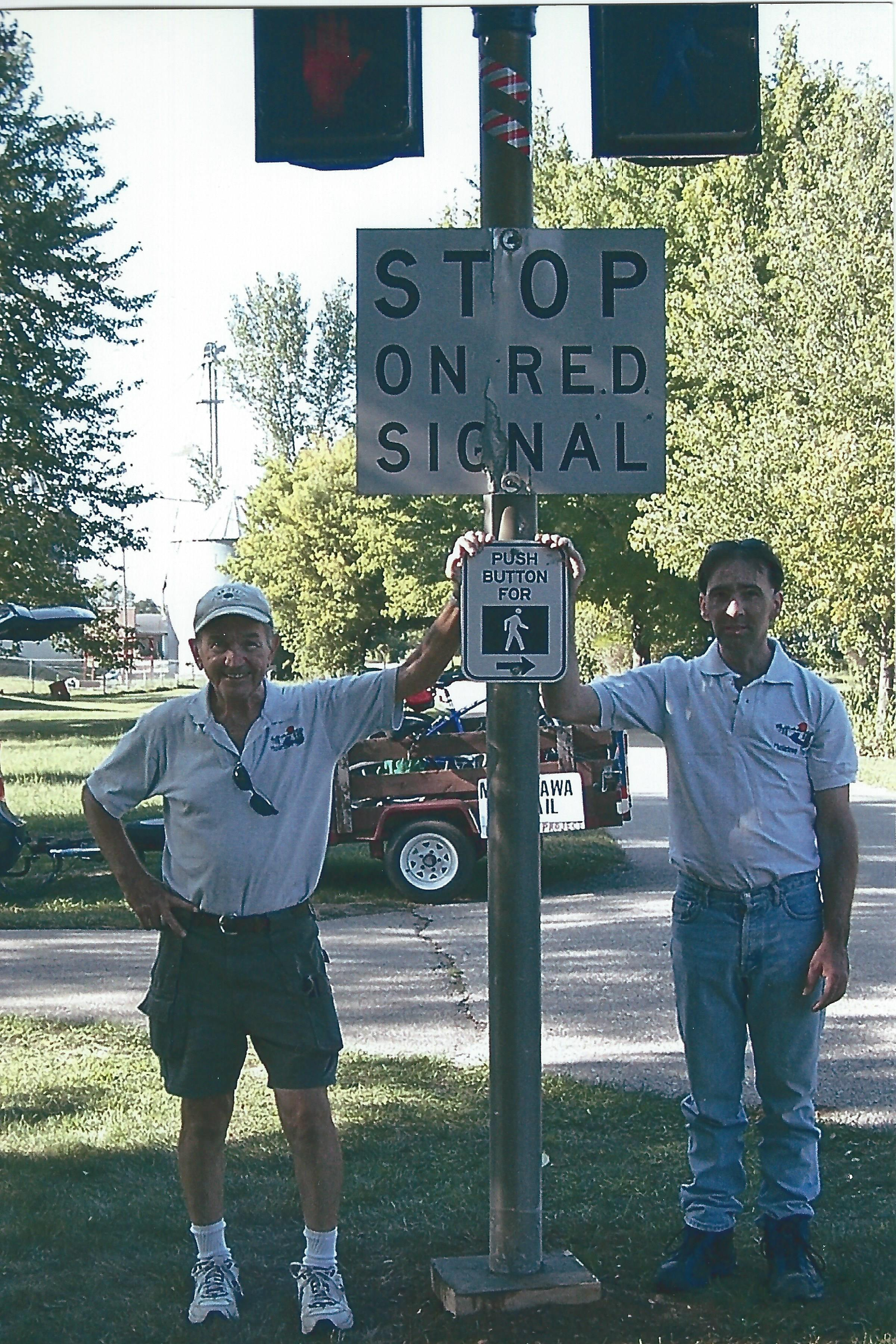 1. Railroad Signage in Conklin