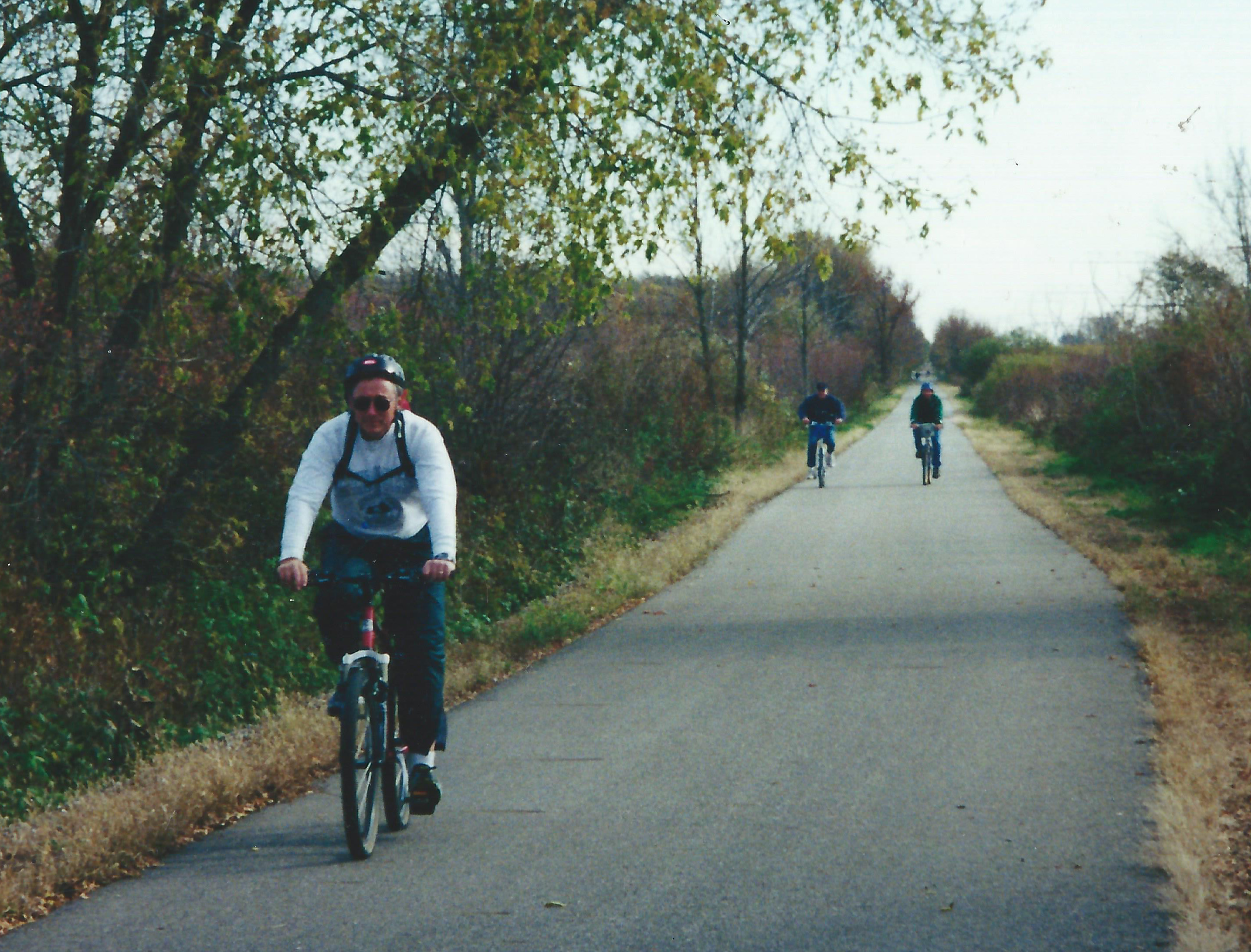2. Riders Continuing West