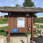 Trail Head Kiosks at Marne and Conklin Get New Roofing